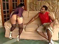 Braziliaanse volwassen anale seks