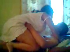 Desi Nordeste esposa quente Sex with o marido na cama
