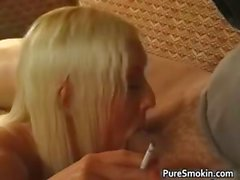 Callie Coxs Smoking exciting Tongue Ring part1