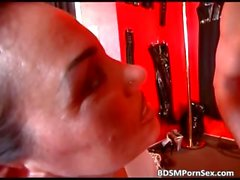 Weird and bizarre BDSM play with sexy part3