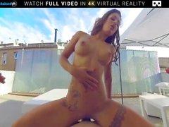 Virtuelle Realität Große Titten